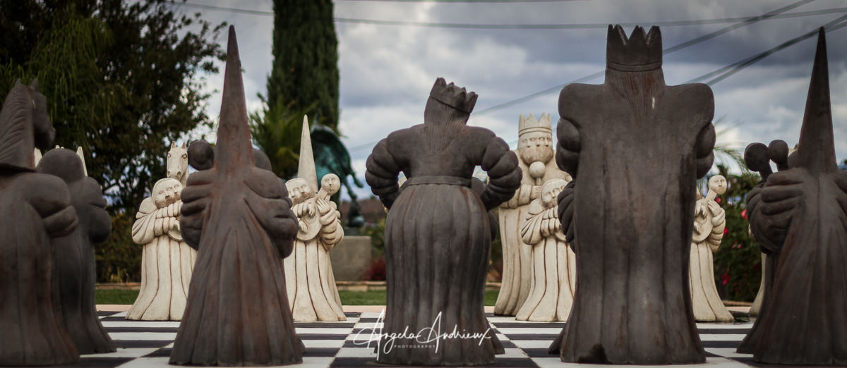 Giant Chess by Angela Andrieux