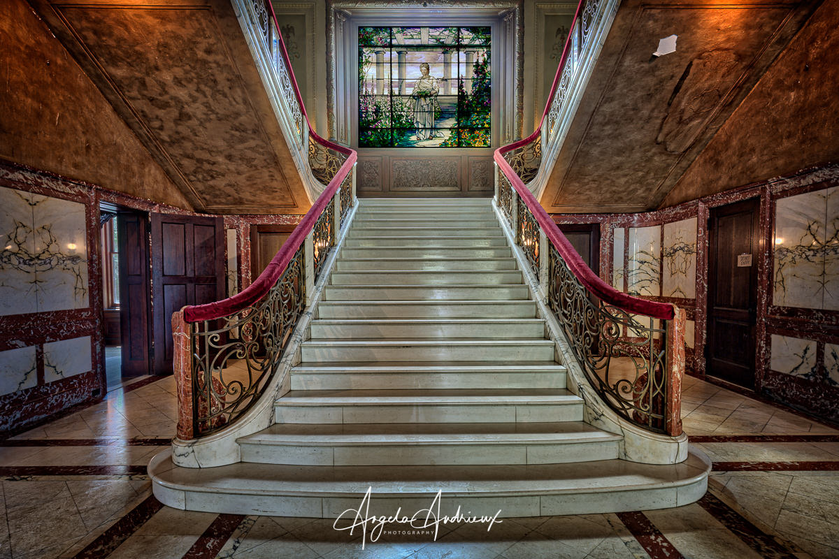 Swannanoa Staircase by Angela Andrieux