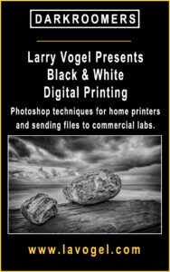 Black and White Digital Printing with Larry Vogel @ Zoom | San Diego | California | United States