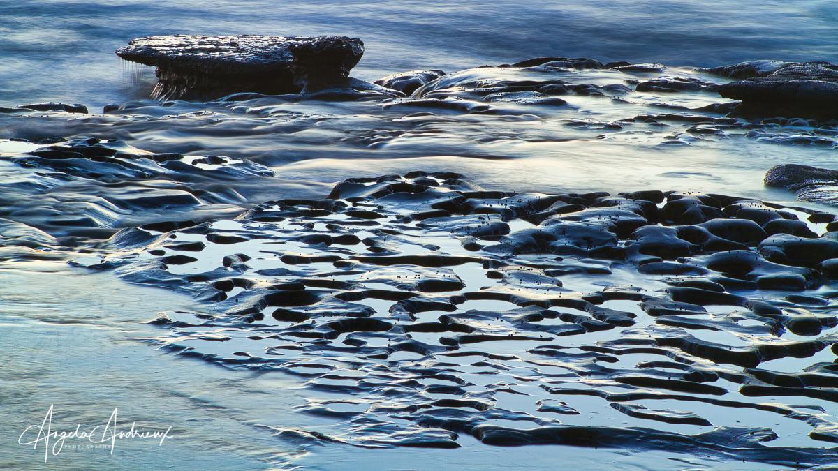 La Jolla Potholes by Angela Andrieux