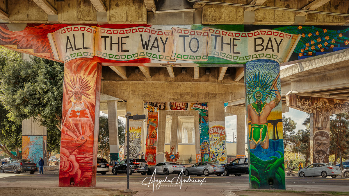 Chicano Park © Angela Andrieux