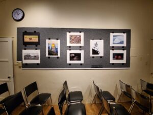 Gallery Wall at the PAB by Ralph Vasquez